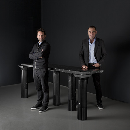 A true meeting of minds – Lombard Odier and the Carpenters Workshop Gallery founders, Julien Lombrail and Loïc Le Gaillard